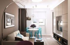 Как выжать максимум из площади двухкомнатной квартиры и оформить стильный интерьер при ограниченном бюджете – дизайнеры мастерской Geometrium делятся опытом работы над проектом для молодой хозяйки