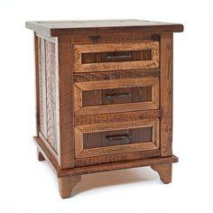 935 Pagosa Springs 3 Drawer Nightstand - Bedroom - Nightstand 1