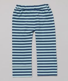 Look what I found on #zulily! Twilight Stripe Organic Pants - Infant, Toddler & Kids #zulilyfinds