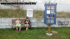Jenny Poore. Lynchburg, VA.  	 This TARDIS Little Free Library is located in Lynchburg's historic Tinbridge Hill neighborhood at WordWorks! a creative writing lab that provides writing enrichment and remediation for kids in grades K-12!