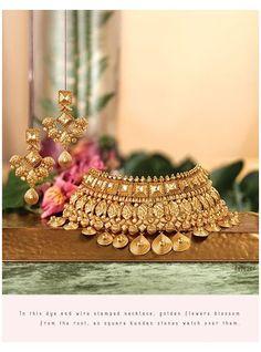 Real Gold Jewelry, Gold Jewellery Design, Jade Jewelry, Etsy Jewelry, Resin Jewelry, Pearl Jewelry, Crystal Jewelry, Boho Jewelry, Indian Wedding Jewelry