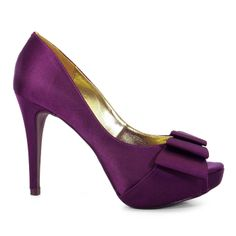 Sapato Peep Toe Feminino Divalesi 86021-C - Berinjela