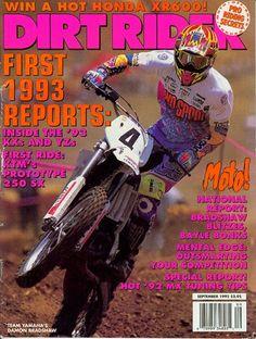 Damon Bradshaw, still on two wheels Yamaha Motocross, Beast From The East, Dirtbikes, Vintage Bikes, Damon, Magazine Covers, Badass, Motorcycles, Wheels