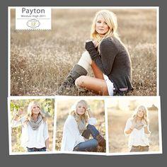 senior picture poses girls -