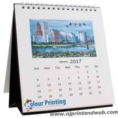 printable free #Desktop #Calendars, calendars to print,monthly and yearly available, 2017. http://www.njprintandweb.com/product/desktop-calendars/