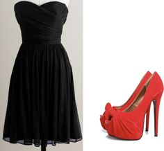 """""""Little black dress look"""" by tiffintots on Polyvore"""