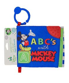 Love this Mickey Mouse Soft Crinkle Book by Mickey Mouse on #zulily! #zulilyfinds