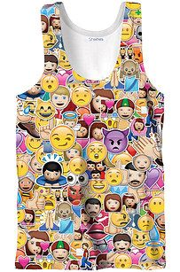 Emoji overload! I love this tank so much ^-^