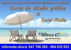 Curso de Diseño Gráfico y Curso de Social Media · · - · Formador y Diseñador Gráfico Jose Manuel Agut
