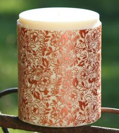 Parable Clovelly Copper on Clotted Cream handcrafted candle - copyright www.parabledesigns.co.uk