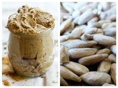 pate de seminte de floarea-soarelui Raw Vegan, Peanut Butter, Vegan Recipes, Vegetables, Food, Romania, Recipes, Canning, Vegane Rezepte