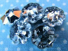 Get creative with these Silver Backed Cry... come have a look. http://www.smartasabutton.com/products/silver-backed-crystal-flowers?utm_campaign=social_autopilot&utm_source=pin&utm_medium=pin #smartasabutton #buttons #craftsandhobbies