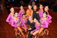 Exponentes de Danza y Coreografía triunfan en South American Open World Promotion 2016