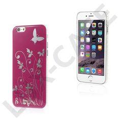 Butterflies (Hot Pink) iPhone 6 Cover
