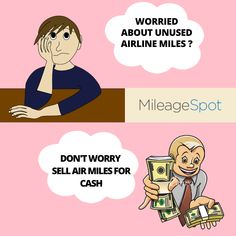 Sell Airline Miles For Cash Credit Card Points, Did You Know, No Worries