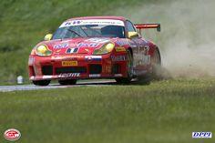 GTR Porsche puts wheel off track