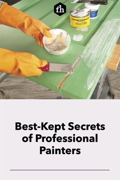 Learn how to paint like a pro and pick up some great tips for achieving a perfectly smooth and even paint job. Best Kept Secret, The Secret, Painting Tips, House Painting, Lead Paint, Professional Painters, Interior Painting, Buying A New Home, Paint Furniture