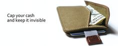 MiniCap: Canvas RFID slim wallet with everything you need. by Anvi Design Keappor project team —Kickstarter