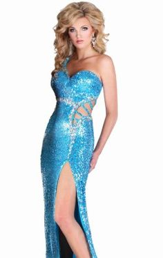 Sequined Cutout Gown by Epic Formals 3776