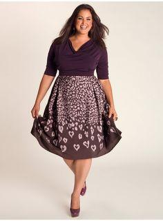 Jane Vintage Dress in Violet - Igigi