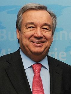 """Sixty seven year old Antonio Guterres has been elected as the next President of the United Nations General Assembly, should we congratulate him? Not unless you're a lover of socialism and a firm believer in the global government because that is exactly what he is and represents. This man, who was received with thunderous applause will now lead the world into a """"new era of globalism"""" and"""