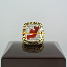 2000 New Jersey Devils Stanley Cup Championship Ring - See more at: http://www.customchampionshiprings.com/2000-new-jersey-devils-stanley-cup-championship-ring-p-225.html