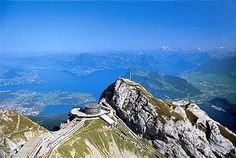 Pilatus - Lucerne, Switzerland--supposedly Pontius Pilate is buried here. Age 16 ~ Scared of heights, wouldn't take the cable car to the top. Had a memorable day alone in town- still have the gloves and petit point cigarette case I bought in town. Seen, Future Travel, Travel Abroad, Travel And Leisure, Oh The Places You'll Go, Dream Vacations, Travel Photos, Lucerne Switzerland, Around The Worlds