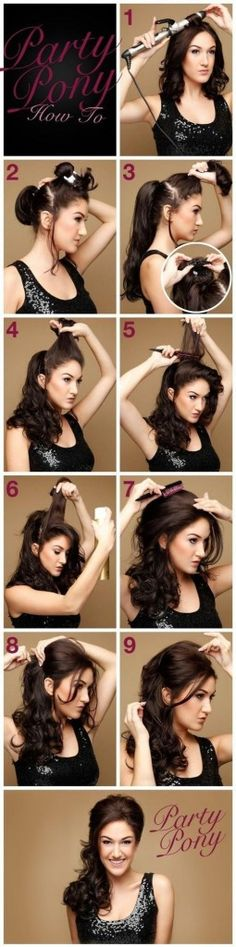 14 Wonderful Hairstyles With Tutorials for Long Hair - Pretty Designs
