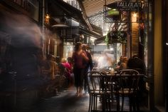 Melbourne laneways and Coffee shops  by Hany Kamel