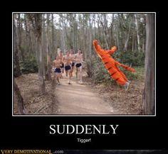 I wish I had a tigger suit !