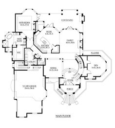Victorian House Plan 87604 | House plans, Victorian and Victorian ...