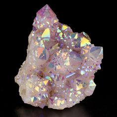 "4 2"" Iridescent Rainbow Spirit Quartz Crystal Group No Damage So Africa for Sale | eBay"
