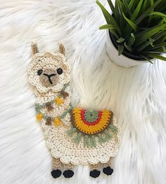 Searching for the perfect crochet applique pattern items? Shop at Etsy to find unique and handmade crochet applique pattern related items directly from our sellers. Cute Crochet, Crochet Hooks, Crochet Baby, Crochet Unicorn, Crochet Blankets, Crochet Granny, Baby Blankets, Baby Knitting, Baby Pattern