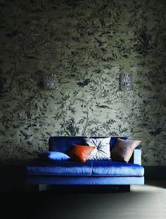 Papier peint Arun II - Jim Thompson - Marie Claire Maison