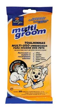 Toalhas umedecidas para cães e gatos (Foto: Divulgação)
