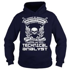 TECHNICAL ANALYST I OWN IT FOREVER THE TITLE T-Shirts, Hoodies. ADD TO CART ==► https://www.sunfrog.com/LifeStyle/TECHNICAL-ANALYST-BLOOD-Navy-Blue-Hoodie.html?id=41382