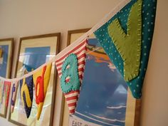 Bunting with letters Tutorial by 'Ruby Reloved - Haberdashery Chic'