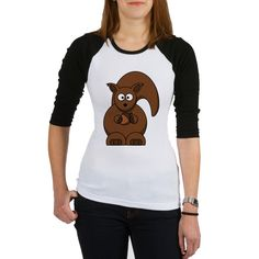 Gifts > Clothing > Womens > Womens apparel > Tops > 3/4 Sleeves > Raglan CARTOON SQUIRREL See more this design on other products http://www.cafepress.com/dd/102472348?aid=42429176 #Womens apparel, #Raglan