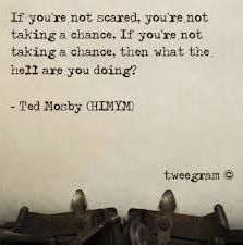 Himym - i heart ted mosby How I Met Your Mother, Quotable Quotes, Lyric Quotes, Me Quotes, Funny Quotes, Wall Quotes, Lyrics, The Words, Cool Words