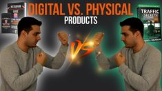 This video will be all about Physical products vs. Digital products. That means we are looking at the advantages and disadvantegs of physical products and we do the exact same for digital products.   However this is the first video which will be added to a series that teaches you how you can create your own ebook. That means we are looking at digital products and at physical products at the perspective of books or ebooks. This will be the first video of a series. First Video, The Secret, Perspective, Physics, Meant To Be, Ebooks, Ads, Teaching, Digital
