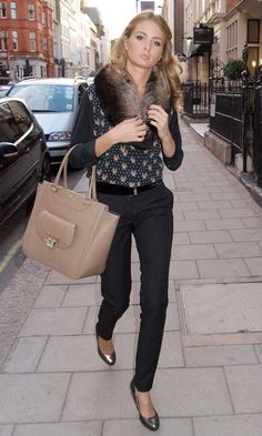 Millie Mackintosh Out In London, 2012