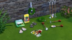 Sims 4 CC's - The Best: TS2 Garden Decor Conversions by Leo4Sims