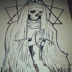 Spooky tattoo design. #tattoo #tattoos #ink