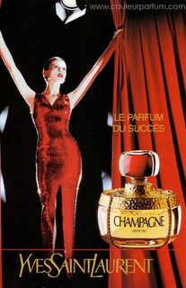 YSL Champagne vintage - my first & favorite perfume