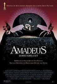 Amadeus - O1985 - nejlepší film/režie/herec v hlavní roli/kostýmy/scénář/výtvarná režie/zvuk/makeup