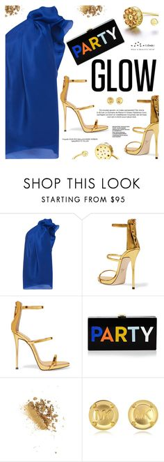 """""""Let's get party started"""" by totwoo ❤ liked on Polyvore featuring Emanuel Ungaro, Giuseppe Zanotti, Milly and Michael Kors"""