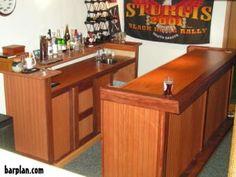 planning home bar | combo bar and back bar layout