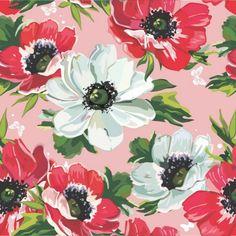 Papel de Parede Floral 02