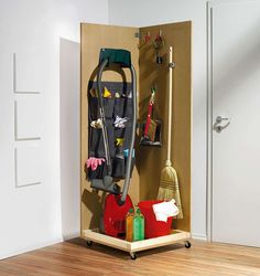 Unsichtbar verstaut You are in the right place about Home Diy Organizations simple Here we offer you Diy Storage, Diy Organization, Storage Spaces, Diy Academy, Ideas Hogar, Cleaning Closet, Ikea Hack, My New Room, Home And Living