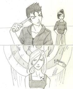 Tris, Tobias and Eric